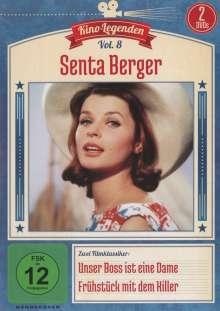 Senta Berger: Unser Boss ist eine Dame / Frühstück mit dem Killer, 2 DVDs