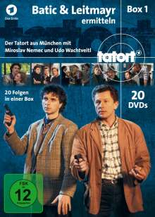 Tatort München - Batic & Leitmayr ermitteln Box 1 (Fall 1-20), 20 DVDs
