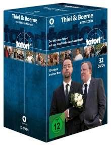 Tatort Münster - Thiel und Boerne ermitteln Fall 1-32, 32 DVDs