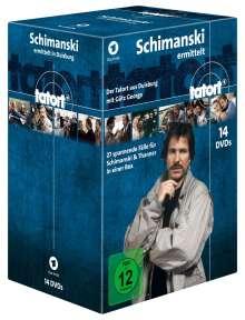 Tatort Duisburg - Schimanski ermittelt, 14 DVDs
