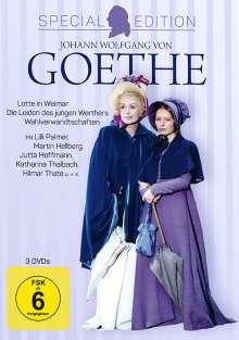 Johann Wolfgang von Goethe (Special Edition), 3 DVDs