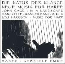 Gabriele Emde - Die Natur der Klänge (Neue Musik für Harfe), CD
