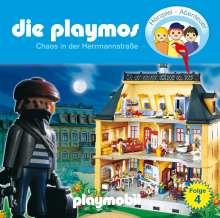 Die Playmos (4) - Chaos in der Hermanstrasse, CD