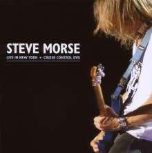 Steve Morse: Live In New York + Cruise Control DVD (CD + DVD), 1 CD und 1 DVD