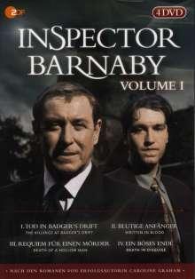 Inspector Barnaby Vol. 1, 4 DVDs