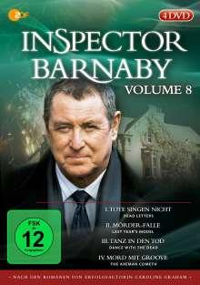 Inspector Barnaby Vol. 8, 4 DVDs