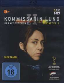Kommissarin Lund Staffel 2 (Blu-ray), 3 Blu-ray Discs