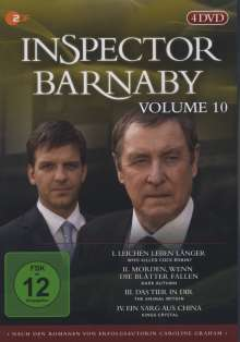 Inspector Barnaby Vol. 10, 4 DVDs