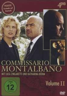 Commissario Montalbano Vol.2, 4 DVDs