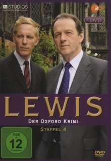 Lewis: Der Oxford Krimi Season 4, 4 DVDs