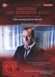Wire in the Blood (Hautnah - Die Methode Hill) (Gesamtbox Season 1-6), 24 DVDs