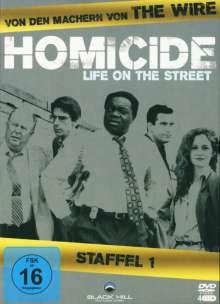 Homicide Season 1, 4 DVDs