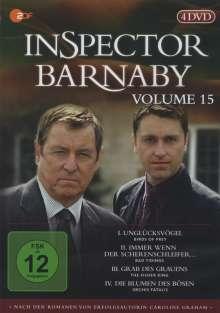 Inspector Barnaby Vol. 15, 4 DVDs
