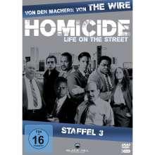 Homicide Season 3, 3 DVDs