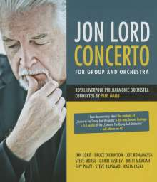 Jon Lord (1941-2012): Concerto For Group And Orchestra, 1 Blu-ray Disc und 1 CD