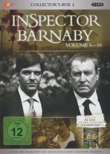 Inspector Barnaby Collector's Box 2 (Vol. 06-10), 21 DVDs