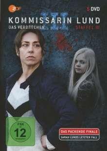 Kommissarin Lund Staffel 3, 5 DVDs