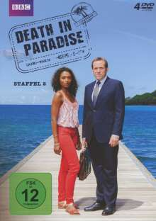 Death in Paradise Staffel 2, 4 DVDs