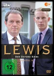 Lewis: Der Oxford Krimi Season 6, 4 DVDs