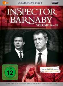 Inspector Barnaby Collector's Box 4 (Vol. 16-20), 16 DVDs