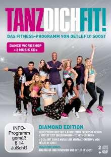 Tanz Dich Fit! (inkl. 2 Musik CDs), 1 DVD und 2 CDs