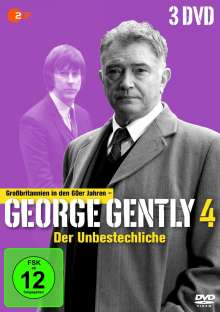 George Gently Staffel 4, 3 DVDs