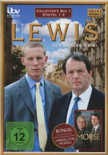 Lewis: Der Oxford Krimi Staffel 1-3, 13 DVDs