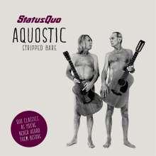 "Status Quo: Aquostic (Stripped Bare) (Boxset) (CD + 7"" Single + T-Shirt Gr. L), 1 CD, 1 Single 7"" und 1 T-Shirt"