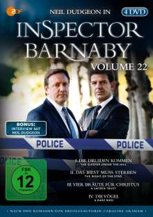 Inspector Barnaby Vol. 22, 4 DVDs