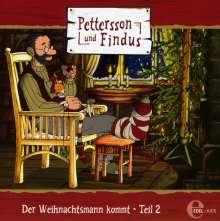 Pettersson Und Findus (8): Der Weihnachtsmann Kommt, Teil 2, CD