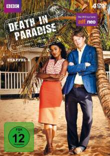 Death in Paradise Staffel 4, 4 DVDs