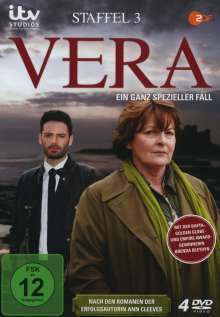 Vera Staffel 3, 4 DVDs