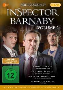Inspector Barnaby Vol. 24, 4 DVDs