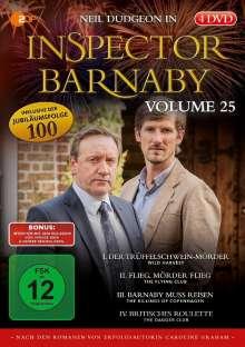 Inspector Barnaby Vol. 25, 4 DVDs