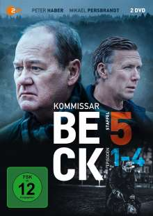 Kommissar Beck Staffel 5 Episode 1-4, 2 DVDs
