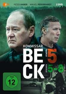 Kommissar Beck Staffel 5 Episode 5-8, 2 DVDs