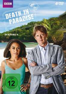 Death in Paradise Staffel 5, 4 DVDs
