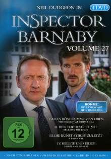 Inspector Barnaby Vol. 27, 4 DVDs