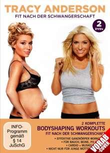 Tracy Anderson: Fit nach der Schwangerschaft, 2 DVDs