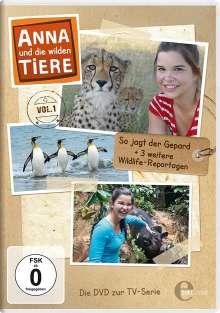 Anna und die wilden Tiere Vol. 1: So jagt der Gepard, DVD