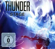 Thunder: Stage (Live In Cardiff) (Limited-Edition), 2 CDs und 1 Blu-ray Disc