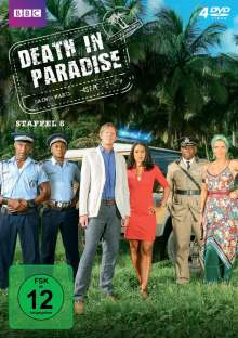 Death in Paradise Staffel 6, 4 DVDs