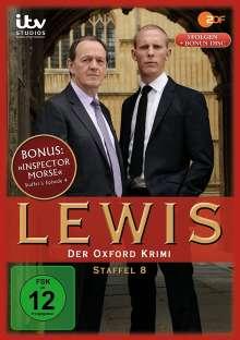 Lewis: Der Oxford Krimi Season 8, 4 DVDs