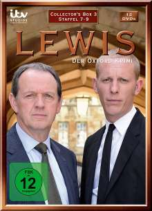 Lewis: Der Oxford Krimi Staffel 7-9, 12 DVDs