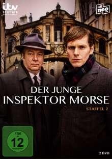 Der junge Inspektor Morse Staffel 2, 2 DVDs