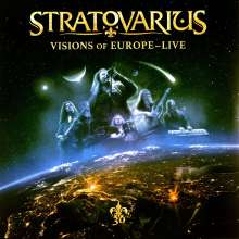 Stratovarius: Visions Of Europe - Live (remastered) (180g), 3 LPs