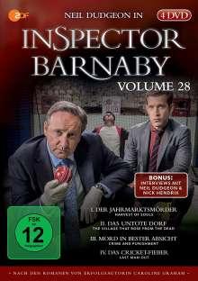 Inspector Barnaby Vol. 28, 4 DVDs