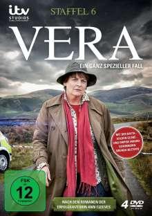 Vera Staffel 6, 4 DVDs