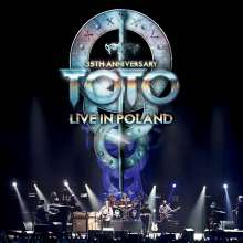 Toto: 35th Anniversary Tour: Live In Poland (180g) (Limited Numbered Edition), 3 LPs und 2 CDs