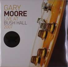 Gary Moore: Live At Bush Hall 2007 (remastered) (180g) (Limited Numbered Edition), 2 LPs und 1 CD